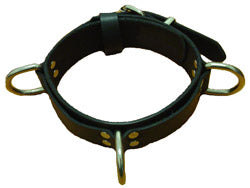 3 D Ring Collar Belt Leather