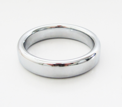 Stainless steel fat boy cock ring