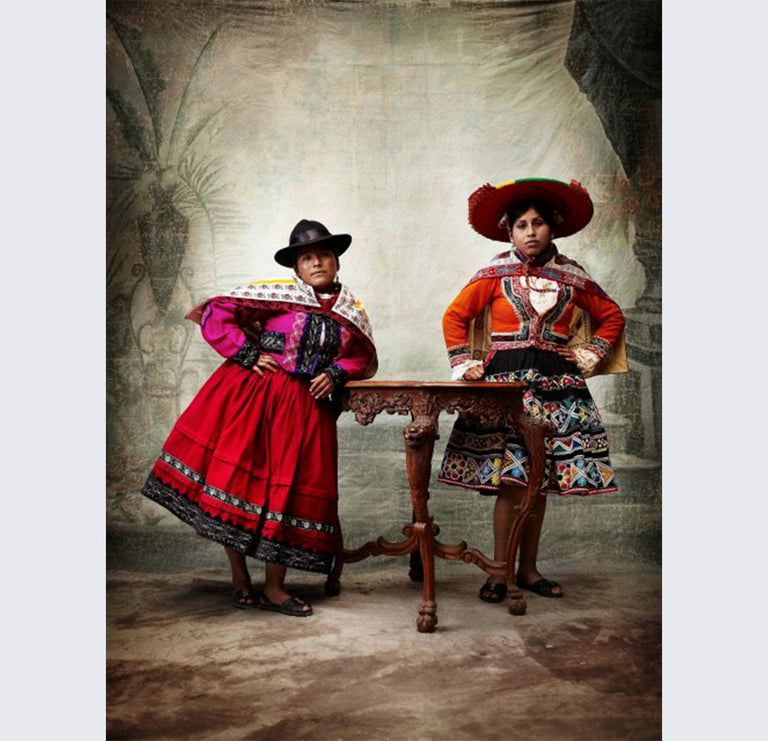 Traditional women's costume, provinces of Paruro and Canas, Cusco, Peru, 2010