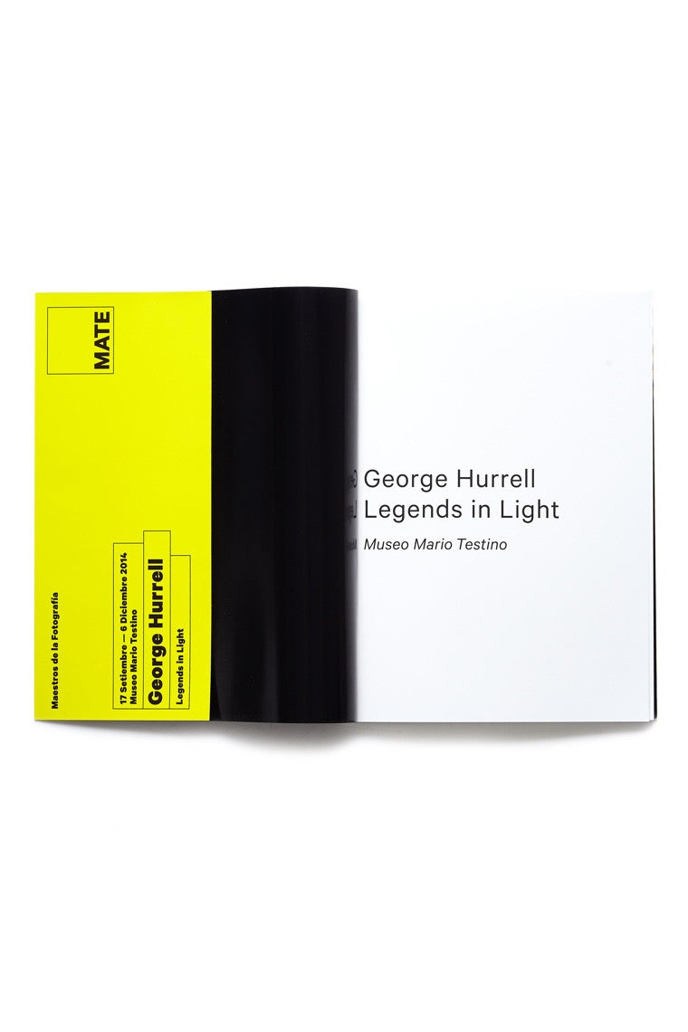 Legends in Light, George Hurrell Catalogue, MATE 2014