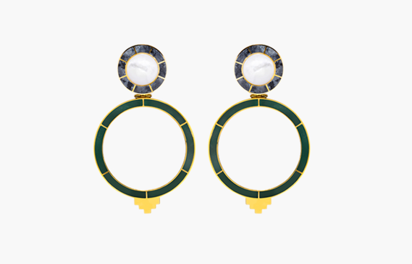 Monica Sordo YMA Earrings, Bodega MATE