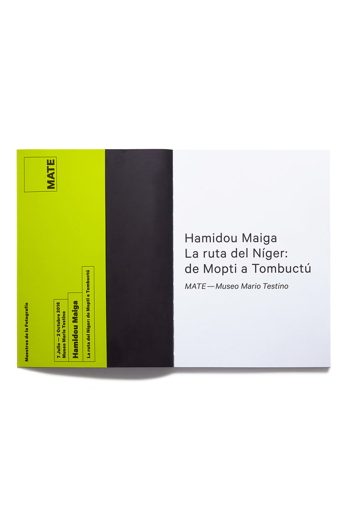 The Route of the Níger: From Mopti to Timbuktu, Hamidou Maiga Catalogue, 2016