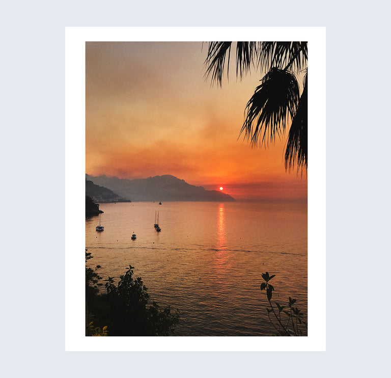 Sunrise 4, Amalfi, 2017
