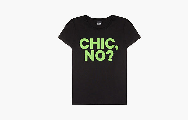 Chic, No?                    T-Shirt, Black