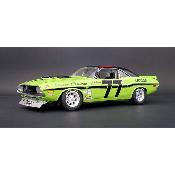 1:18 Dodge Challenger Trans Am - #77 Sam Posey (1970) from ACME Trading Company