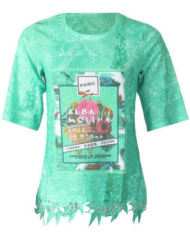 Printed Tshirt - Green