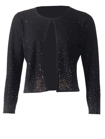 Diamonte Cardigan - Black