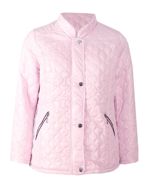 Quilted Jacket - Baby Pink