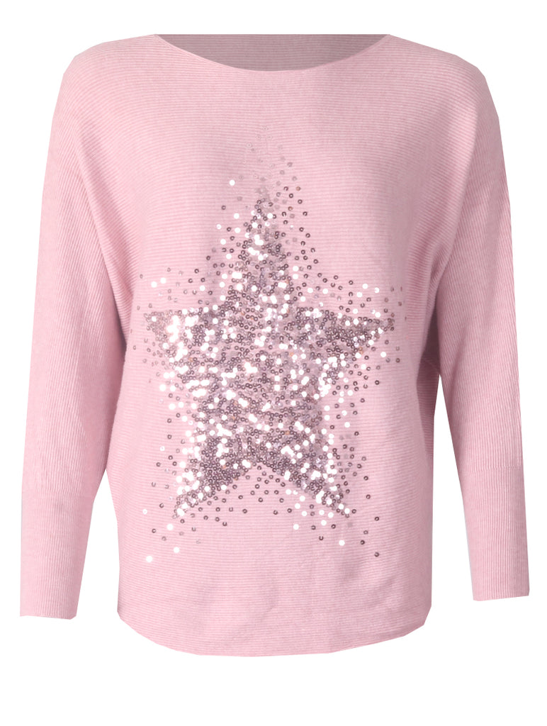 Sequence Star Jumper - Pink