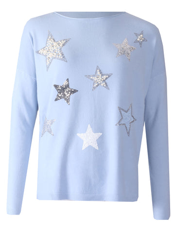 Star Jumper - Sky Blue