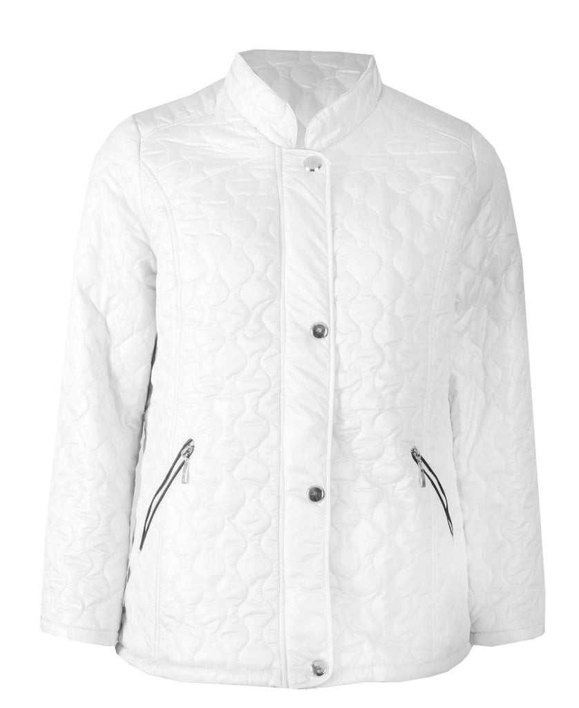 Quilted Jacket - Optic White