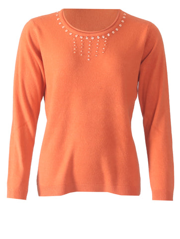 Diamonte Jumper - Pumpkin