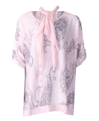 Scarf Top - Pink