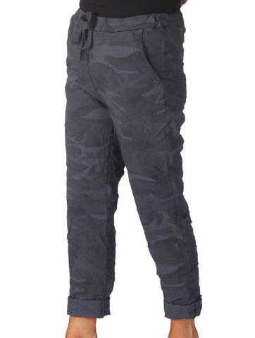 Magic Camo Trousers - Grey