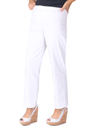 "27"" Moda Trousers - White"
