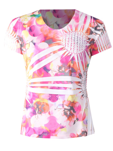 Pineapple Top - Pink Multi