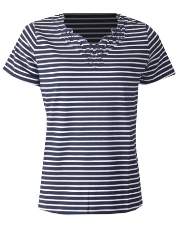 Stripe Top - Navy