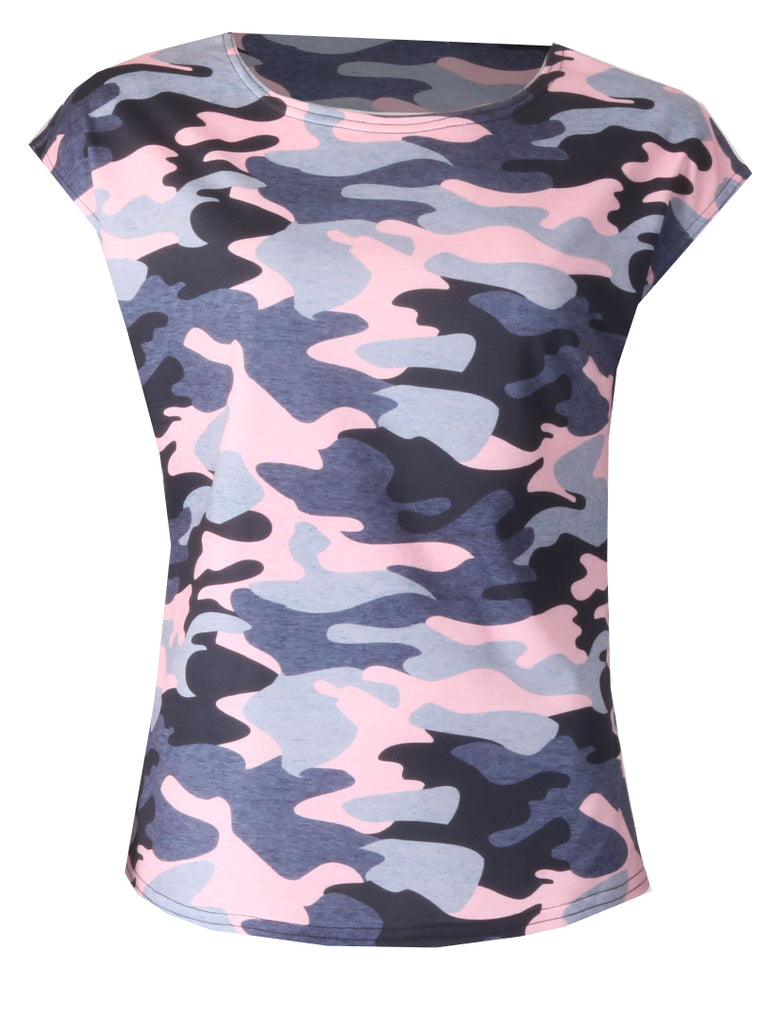 Army Top - Pink