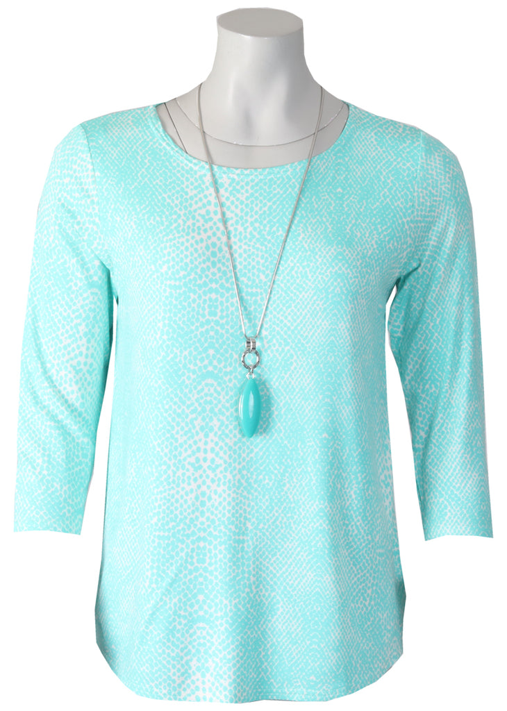 Necklace Top - Turquoise