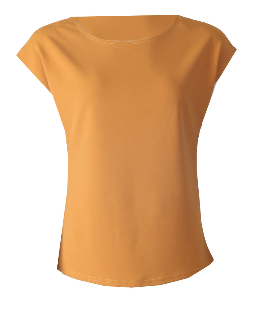 Sleeveless Top - Mustard