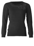 Sequin Knitwear - Black