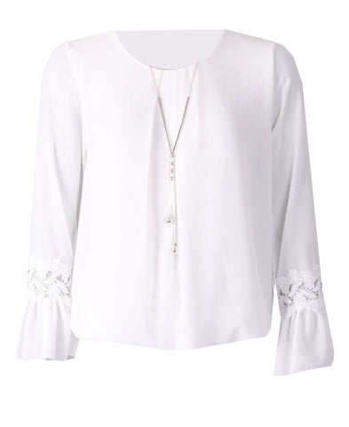 Necklace Top - Ivory