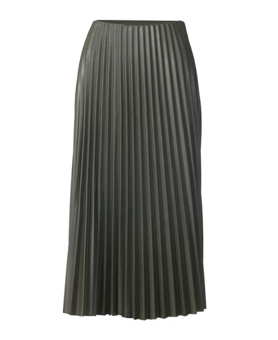Pleated Skirt - Olive