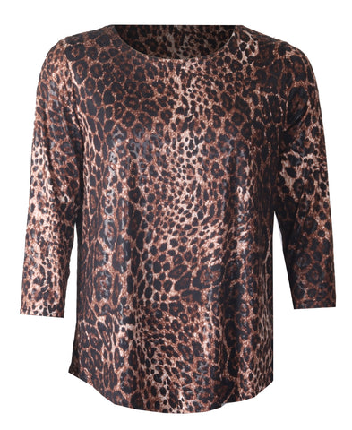 Snake Top - Brown