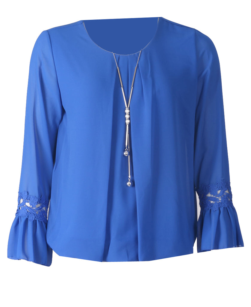 Necklace Top - Royal