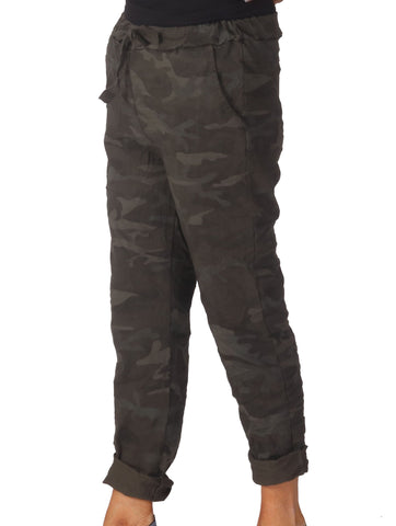 Magic Camo Trousers - Khaki