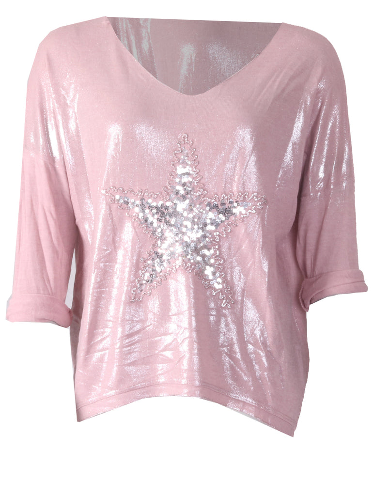Star Top - Pink