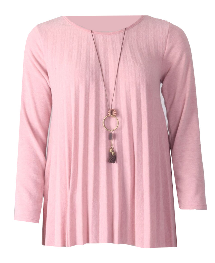 Necklace Top - Pink
