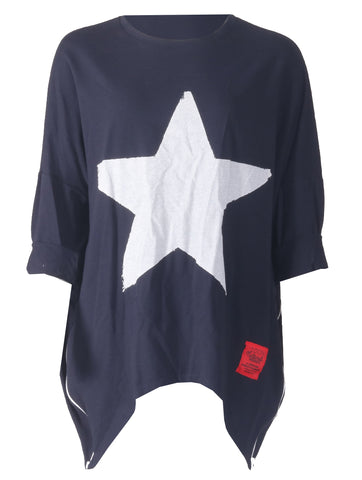 Star Top - Navy