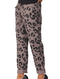 Magic Leopard Trousers - Mocha