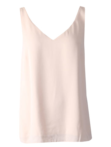 Sleeveless Top - Beige