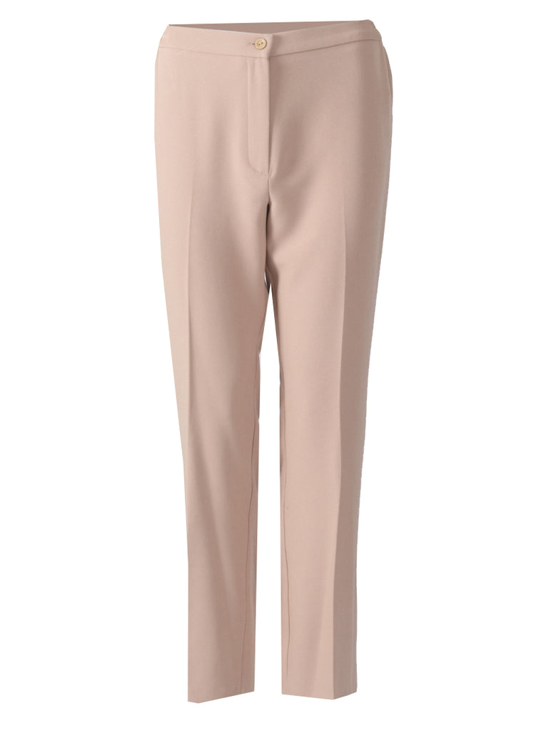 Short Side Elasticated Trousers - Taupe