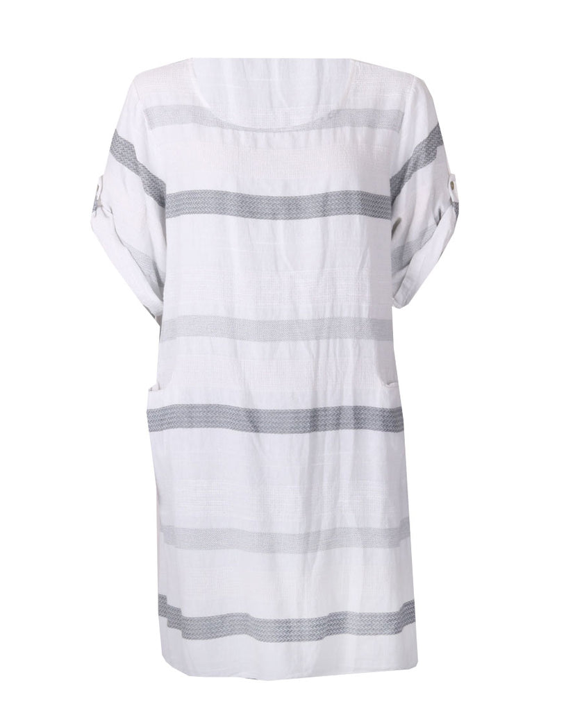 Pocket Tunic - White