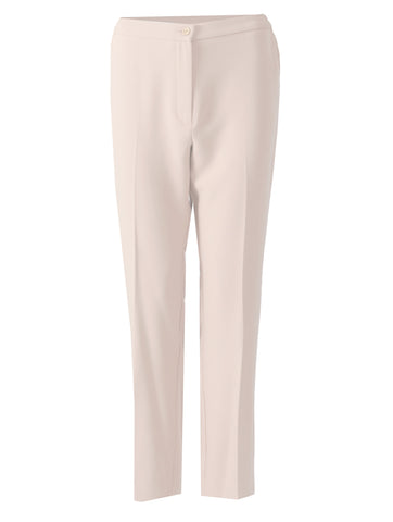 Short Side Elasticated Trousers - Light Beige