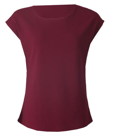 Sleeveless Top - Wine