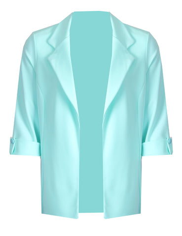 Edge to Edge Jacket - Aqua