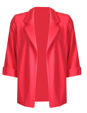 Edge to Edge Jacket - Red