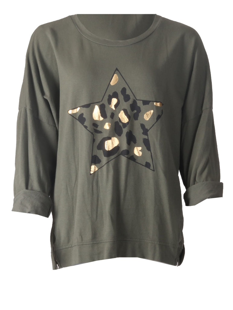 Star Top - Khaki