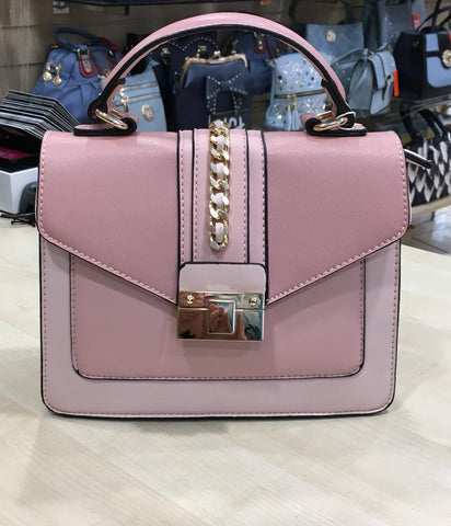 Blush & Cream Handbag