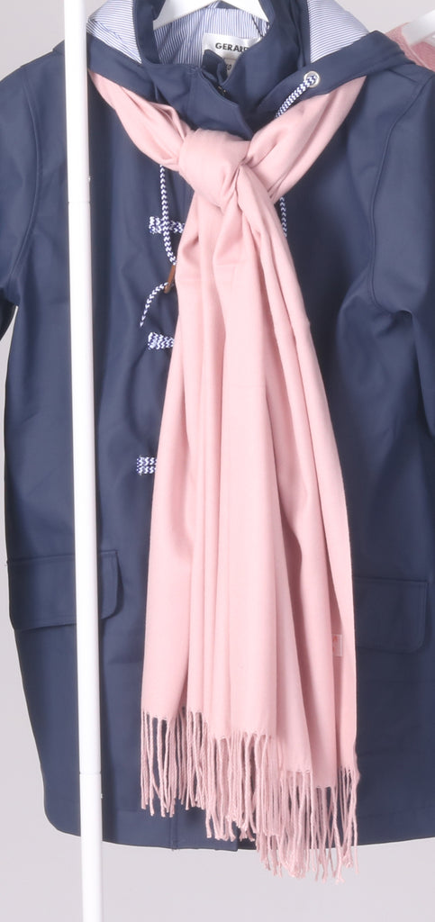 Cashmere Scarf - Light Pink