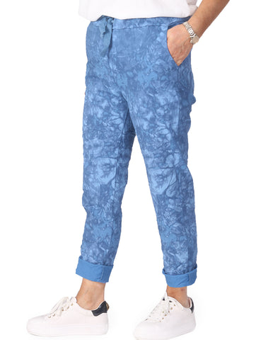 Tie Dye Magic Trousers - Denim