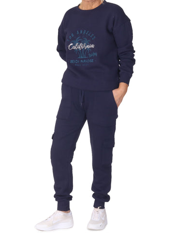 Cargo Jogging Trousers - Navy