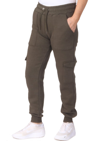 Cargo Jogging Trousers - Khaki