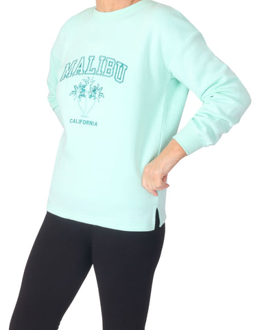 Malibu Sweater - Pastel Green
