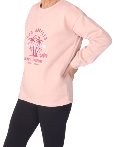 Los Angeles Sweater - Pink