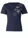 Star Stones T-shirt - Navy